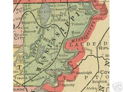 Mississippi County Arkansas Genealogy History Maps With